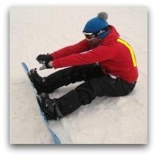 snowboarding exercise