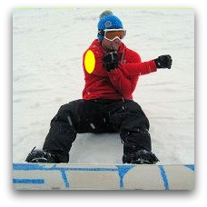 snowboarding exercise