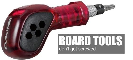 snowboard tools