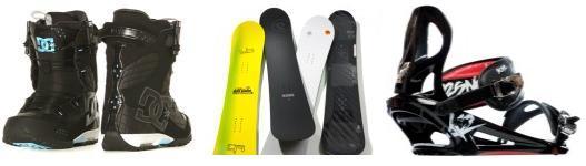 Snowboarding equipment