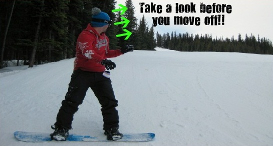 be safe snowboarding
